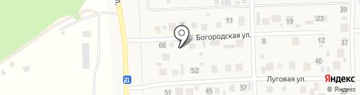 Шиномонтажная мастерская на Богородской на карте Михайловки