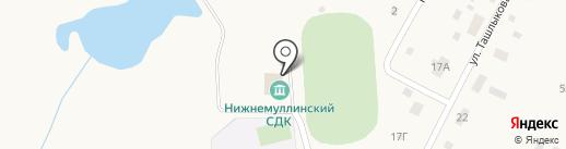 Нижнемуллинский сельский дом культуры на карте Петровки