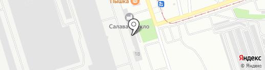 Волжско-Уральская транспортная компания на карте Салавата