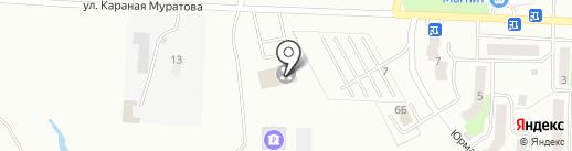 Аварийно-спасательная служба Республики Башкортостан на карте Стерлитамака