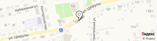 Магазин хозяйственных товаров на карте Булгаково