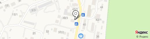 Магазин автомасел на карте Михайловки