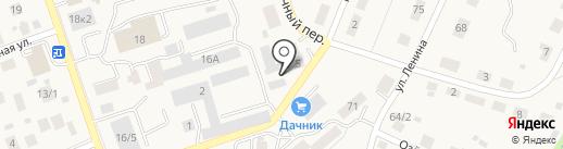Спутник на карте Михайловки