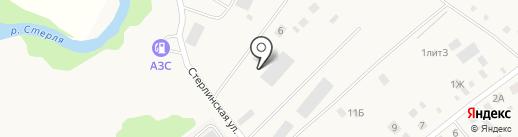 Производственная компания на карте Новой Отрадовки