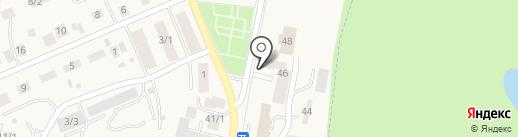 Михайловский сельский совет на карте Михайловки