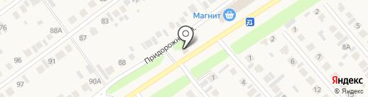 Смайл на карте Новой Отрадовки