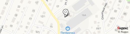 Уфамебель на карте Михайловки