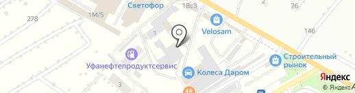 НурПласт на карте Стерлитамака