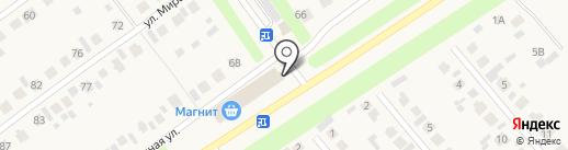 Магазин по продаже лепешек из тандыра на карте Новой Отрадовки