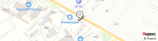 Магазин автотоваров на карте Стерлитамака