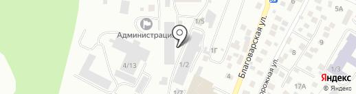 Верена Дизайн на карте Уфы