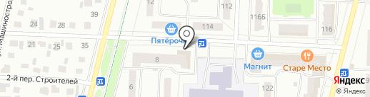 Стрелец на карте Стерлитамака