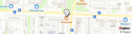 Сеть магазинов овощей и фруктов на карте Стерлитамака