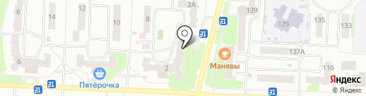 Уфанет на карте Стерлитамака