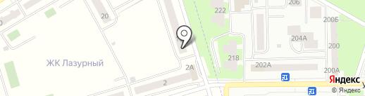 Инвестрайстройзаказчик на карте Мариинского