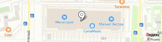Комплимент на карте Стерлитамака