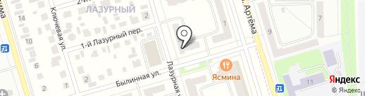 Нейтраль-Уфа на карте Мариинского