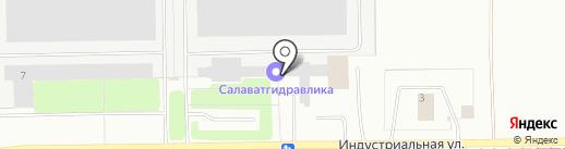Салаватгидравлика на карте Салавата
