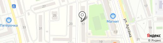 Ника на карте Мариинского