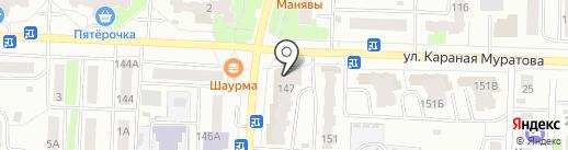 Проект-Сервис на карте Стерлитамака