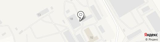 Амега-Строй на карте Уфы