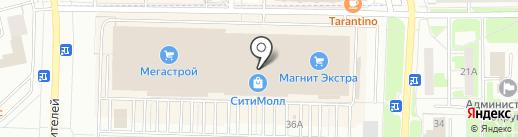 Банкомат, Газпромбанк на карте Стерлитамака