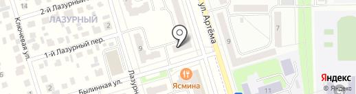 Торговый дом Стер-х на карте Мариинского