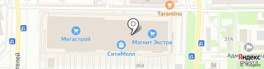 Fashion Mall на карте Стерлитамака