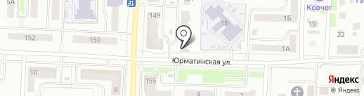 Клиника доктора Симаковой на карте Стерлитамака