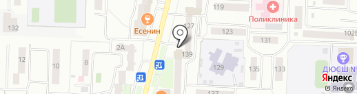 С иголочки на карте Стерлитамака