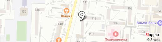 Путёвочкин на карте Стерлитамака
