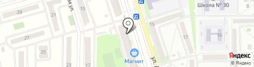 Магазин нижнего белья на карте Мариинского