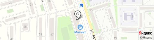 Красное & Белое на карте Мариинского