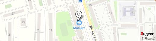 Магазин текстиля на карте Мариинского