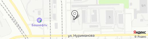 Монтажхимзащита на карте Салавата