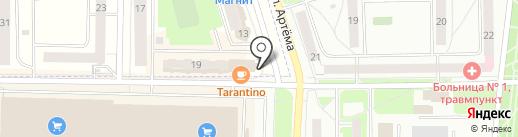 Салон мебели на карте Мариинского
