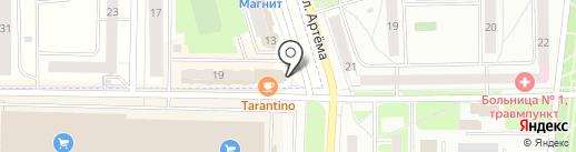 Спутник ТВ на карте Мариинского
