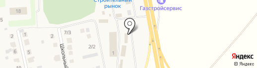 Шашлычный дворик на карте Булгаково