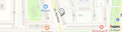 Принт-Лидер на карте Стерлитамака