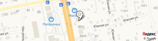 Пельменная #1 на карте Булгаково