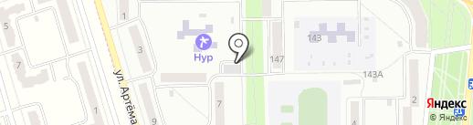Тритон на карте Стерлитамака