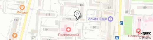 Градус на карте Стерлитамака