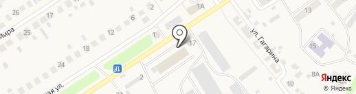 Белый аист на карте Стерлитамака