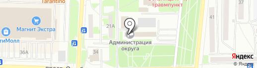 Совет городского округа г. Стерлитамак на карте Стерлитамака