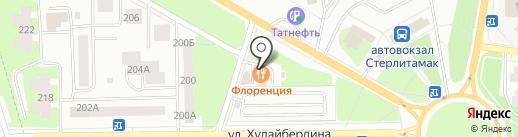 Транзит на карте Стерлитамака