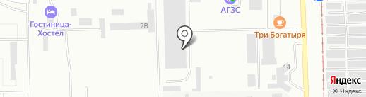 Шиномонтажная мастерская для грузовых автомобилей на карте Салавата