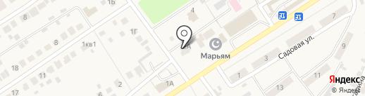 Кедр на карте Новой Отрадовки
