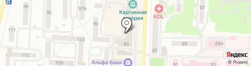 Мастерская по ремонту одежды на Коммунистической на карте Стерлитамака