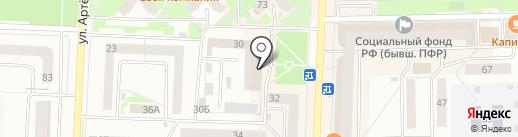Стерлитамакский почтамт на карте Стерлитамака