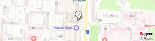 Центр автострахования и оформления автомобилей на карте Стерлитамака